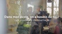 L'école change avec vous - Les coulisses de la vidéo de campagne 2015