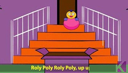 Rolly Polly Rolly Polly | Nursery Rhyme With Lyrics