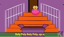 Rolly Polly Rolly Polly | Nursery Rhyme With Lyrics