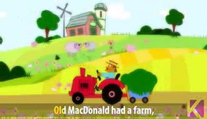 Old Mac Donald Had A Farm | Nursery Rhyme With Lyrics