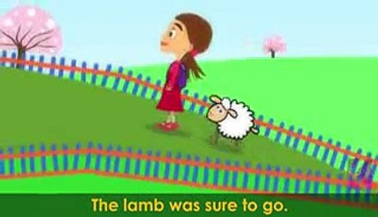 Mary Had A Little Lamb | Nursery Rhymes With Lyrics