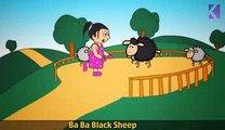 Baa Baa Black Sheep | Nursery Rhyme With Lyrics
