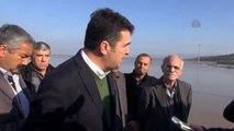 Büyük Menderes Nehri'ndeki Su Taşkını - CHP Aydın Milletvekili Baydar