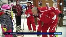 André, 80 ans, moniteur de ski
