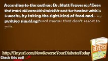 Reverse Overcome Your Diabetes Today Reviews - Reverse Your Diabetes Today By Matt Traverso