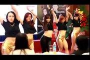 Beautiful sexy girl dancing crazy! So hot!