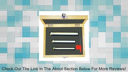 M100DEX Indexable Coolant-Thru Boring Bars Set - Minimum Bore Size: Shank Diameter : 3/8