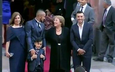 La boda de Arturo Vidal en Santiago