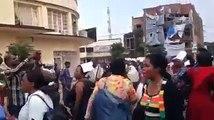 Manifestation des agents de l'hopital de Panzi contre la saisie des comptes de l'hopital