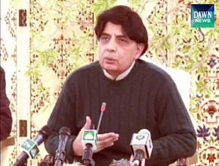 Only terrorism cases will be tried in military courts - ch nisar