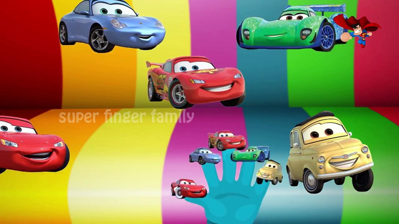 Cars | Cars Finger Family | Cars Cartoon Rhymes for Children | Cars Nursery Rhymes for Children's