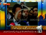 On Monday NA-122 Results Will Prove Who Wins And Who Lost_- Imran Khan Media Talk After Reaching London
