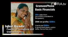 Iqbal Quadir Draws Lessons from GrameenPhone