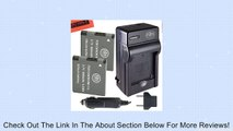 2 Pack Of NB-11L Batteries & Battery Charger Kit for Canon PowerShot Elph 110 Elph 130 Elph 135 IS Elph 140 IS Elph 150 IS Elph 320 HS Elph 340 HS A2300 IS A2400 IS A2600 IS A3400 IS A4000 IS Digital Camera + More!! Review