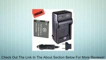 NB-11L Battery & Charger Kit Canon PowerShot Elph 110 Elph 130 Elph 135 IS Elph 140 IS Elph 150 IS Elph 320 HS Elph 340 HS A2300 IS A2400 IS A2600 IS A3400 IS A4000 IS Digital Camera + More!! Review