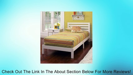 Hillsdale Furniture Aiden Panel Twin Bed - White Review