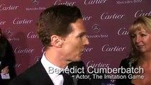 Benedict Cumberbatch on the PS Film Festival red carpet