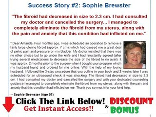 Fibroids Miracle Book Free Download + Discount