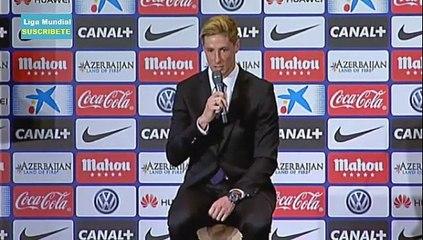 Fernando Torres Presentacion Oficial Atletico Madrid