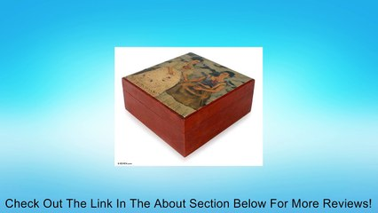 Decoupage tea bag box, 'The Two Fridas' - Kaho Art Decorative Box Review