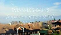 Vente appartement 55 m² EVIAN-LES-BAINS agence immobilière DE CORDIER IMMOBILIER