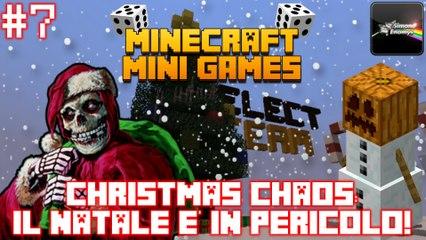 MINECRAFT MINI-GAMES - CHRISTMAS CHAOS: Il Natale è in pericolo!