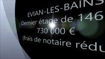 Vente dernier étage 730 000€ EVIAN-LES-BAINS agence immobilière DE CORDIER IMMOBILIER