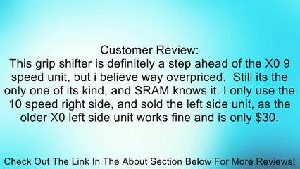Sram X.0 Grip Shift Shifter Review