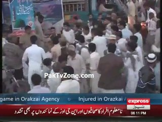 Two arrested in Eid Milad Un Nabi Rally
