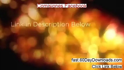 Comisiones Facebook review video - real