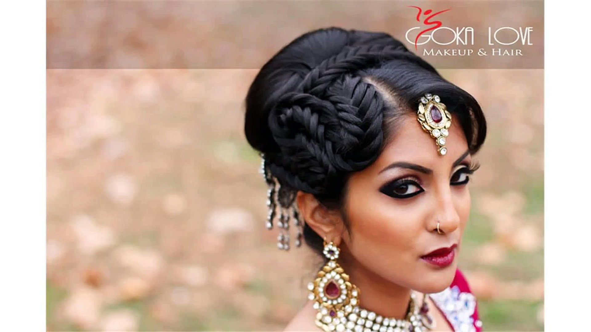 bride makeup and hair indian - video dailymotion