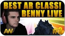 "CoD AW: ""Best AR Class Setup"" DNA BOMB Benny Live #2 (Call of Duty Advanced Warfare Multiplayer)"
