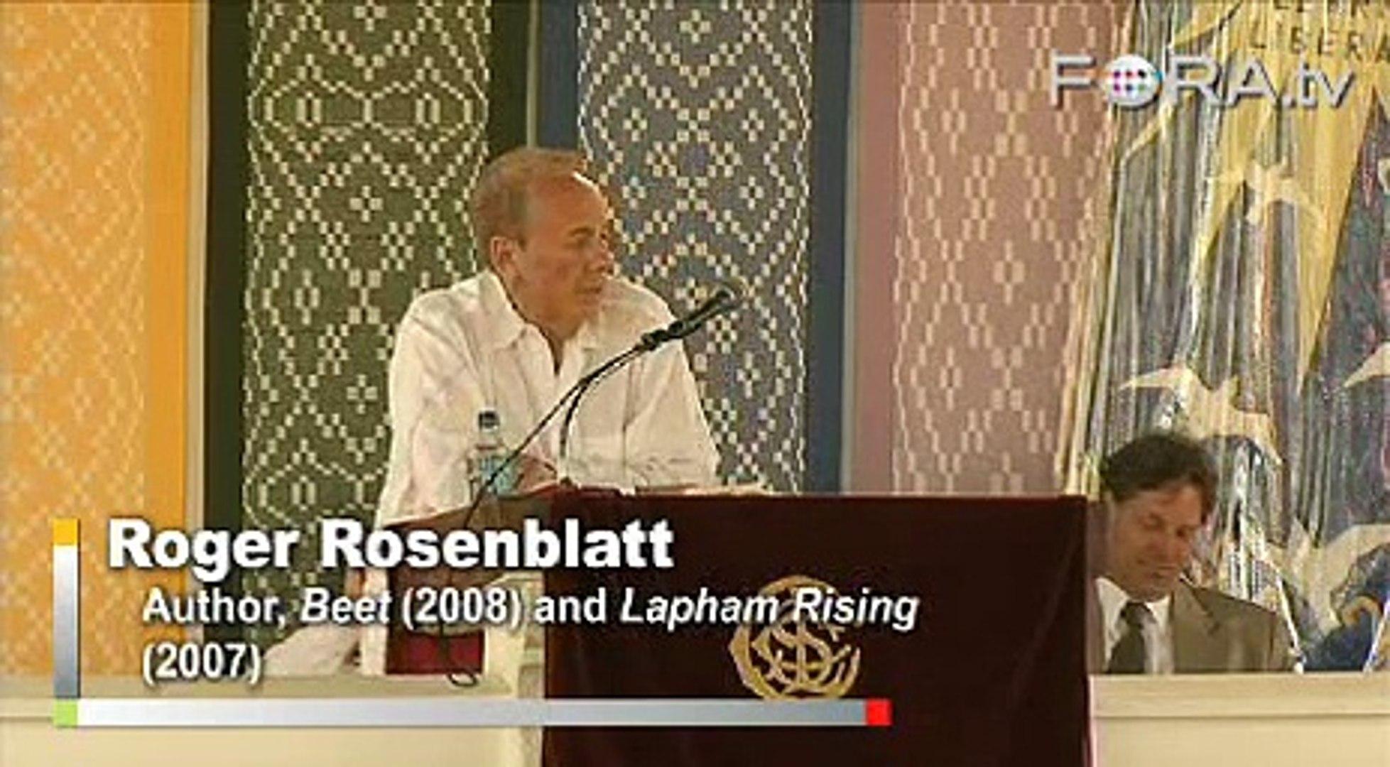 Roger Rosenblatt on the Odd Characters of Beet College