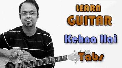How To Play - Kehna Hai - Guitar Tabs - Padosan - Kishore Kumar