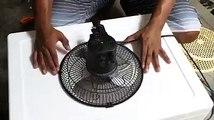 Comment se faire un ventilateur avec du materiel de recuperation