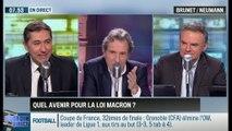 Brunet & Neumann : Quel avenir pour la loi Macron? - 05/01