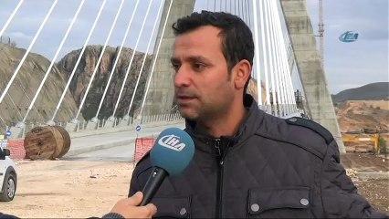 Türkiye'nin 3. Büyük Köprüsü Tamamlandı