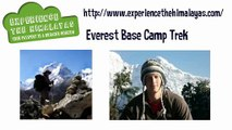 Enjoy Everest Base Camp Trek by Experience The Himalayas