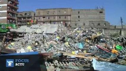Effondrement meurtrier d'un immeuble à Nairobi