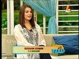 Reham Khan About His Enemies...reham khan ki apni internet par chalne wali video key bare main wazahat