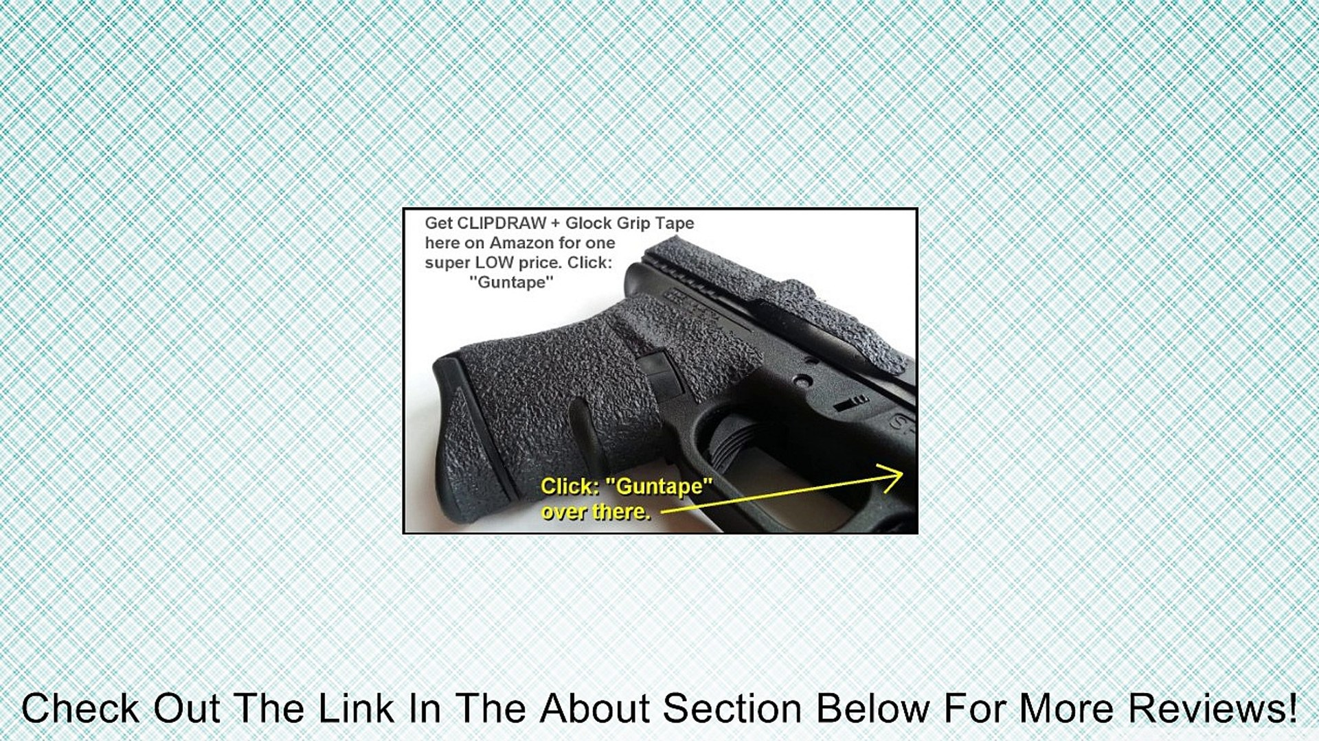 GS-B The Original Concealed Carry Clipdraw for Glock Models 17/19/22/23/24/25/26/27/28/31/32/33/34/3