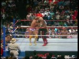 Randy Savage vs George Steele, Lumberjacks match, WWF Saturday Night's Main Event XI (02.05.1987)