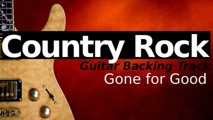 Country Rock Ballad Guitar Jam Track in G Major - Gone for Good