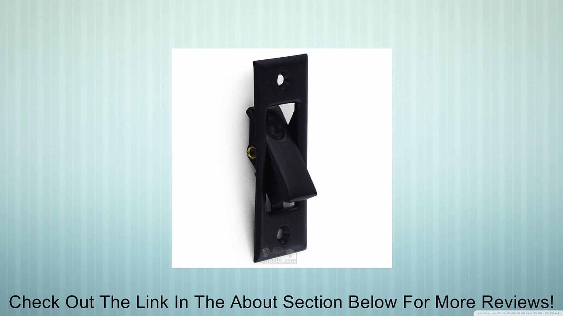Deltana PDB42 3-1//16 Solid Brass Pocket Door Jamb Bolt Polished Chrome