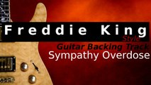 FREDDIE KING style Guitar Jam Track in A Blues - Sympathy Overdose