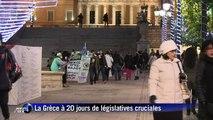 A Athènes, les Grecs peu inquiets d'une sortie de la zone euro