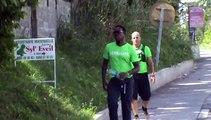 2014/12/31 12h39 Défi +50Km de Marche Coach Mickael Plocoste Solidarité Paix Guadeloupe Départ 7h10 Hôtel-de-Ville Baie-Mahault Arrivée 14h40 Mairie Saint-François Mercredi 31 Décembre 2014