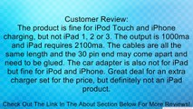 BestDealUSA New 5in1 Travel Kit Charger for Apple iPad iPod Touch iPod Nano Review