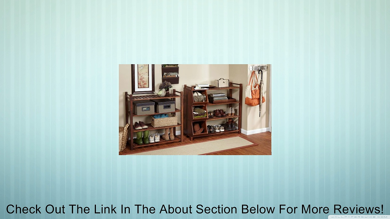 Merry Products SLF0020110000 4-Tier Outdoor Shoe Rack and Cubby Review