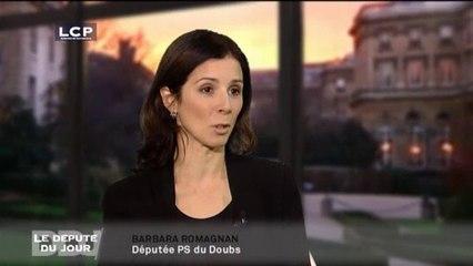 Le Député du Jour - Barbara Romagnan, députée PS du Doubs